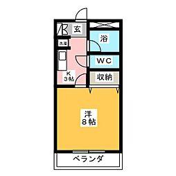 Comfort Morita[2階]の間取り
