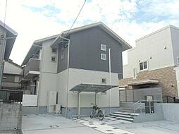 福岡県北九州市戸畑区千防2丁目の賃貸アパートの外観