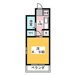 KATSUNO II[3階]の間取り