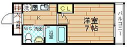 エスリード野田阪神駅前[11階]の間取り