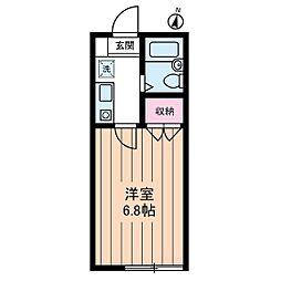 Studio Fujita[1階]の間取り