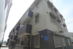千葉県柏市大室1丁目の賃貸アパートの外観