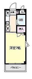 キャッスル笠間I[2階]の間取り