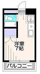 メゾン越仙[4階]の間取り