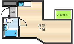 アレグリアプレイス駒川[2階]の間取り