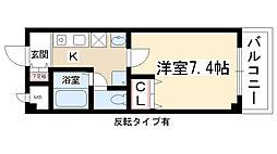 エンジェルメゾン[1階]の間取り