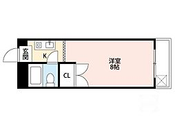 第8東昌ハイツ[3階]の間取り