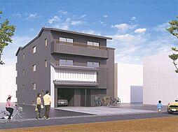 京都府京都市中京区西ノ京式部町の賃貸マンションの外観