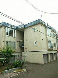 北海道札幌市西区発寒三条3丁目の賃貸アパートの外観