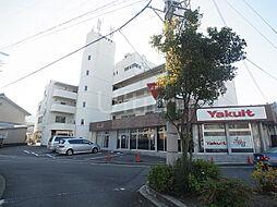 京都府京都市伏見区石田大山町の賃貸マンションの外観