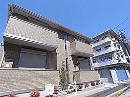 兵庫県神戸市兵庫区中道通8丁目の賃貸アパートの外観