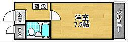 サンヴィアンテ津田[4階]の間取り
