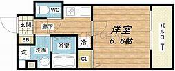 S-RESIDENCE新大阪Ridente[6階]の間取り