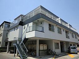 兵庫県姫路市飾磨区清水の賃貸アパートの外観