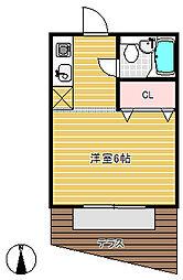 中山手7番館[2階]の間取り