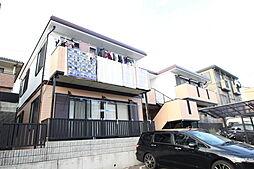 広島県廿日市市陽光台2丁目の賃貸アパートの外観