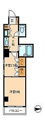 第2石井ビル[5階]の間取り