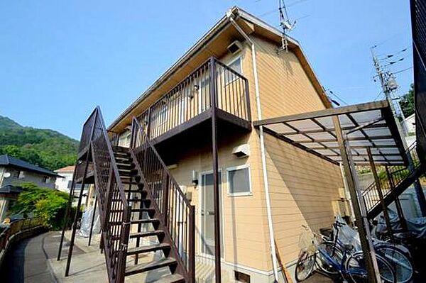 広島県広島市安佐北区可部東5丁目の賃貸アパートの外観