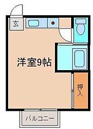 エレガンス村田A棟[2階]の間取り