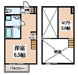 フェニックス宿院[2階]の間取り