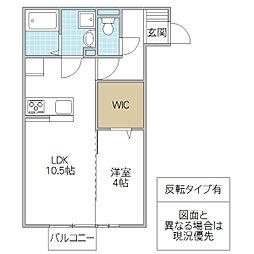 (仮)D-room松代2丁目[202号室号室]の間取り