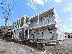 静岡県富士市伝法の賃貸アパートの外観