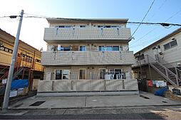 愛知県名古屋市中村区宿跡町2丁目の賃貸アパートの外観