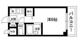 レヂデンス夙川[305号室]の間取り