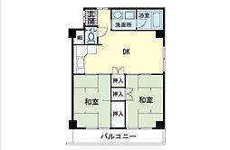 第2のぼりマンション[5階]の間取り