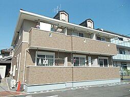 広島県福山市千代田町2丁目の賃貸アパートの外観