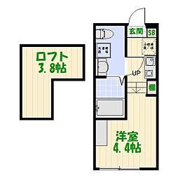 (仮称)葛飾区宝町1丁目コーポ[0101号室]の間取り