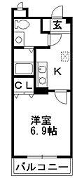 エスポワール楓[4階]の間取り