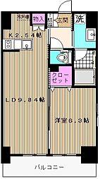 スプリングガーデン[3階]の間取り
