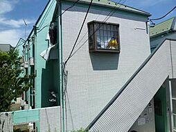 東京都北区滝野川3丁目の賃貸アパートの外観