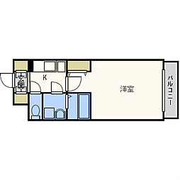 エスリード福島第5[3階]の間取り