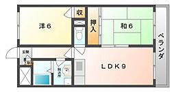 プライムハイム[4階]の間取り