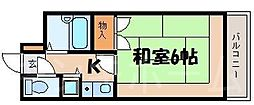広島県安芸郡府中町千代の賃貸マンションの間取り