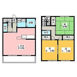 竜美東SKYHILLS2[1階]の間取り