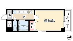 都筑マンション[4A号室]の間取り