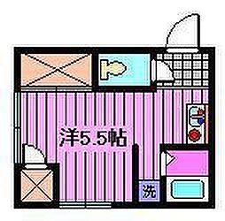 双葉荘[1階]の間取り