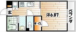 飛幡ブレイン[2階]の間取り
