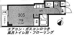 コンフォート・トクエ[2階]の間取り