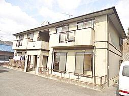 広島県福山市蔵王町2の賃貸アパートの外観