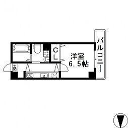 Celeb布施東(セレブ)[802号室号室]の間取り
