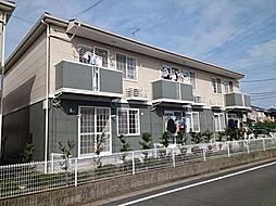 愛知県豊川市谷川町の賃貸アパートの外観
