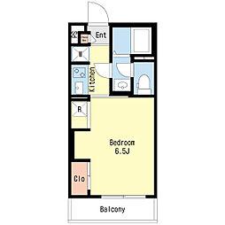 リブリ・スウィートホーム[2階]の間取り