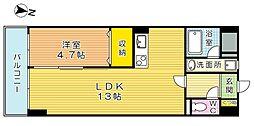 THE SQUARE・Club Residence (ザ・ス[9階]の間取り