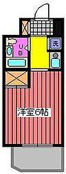 Jフラッツ川口本町[5階]の間取り