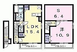 シェルティ西宮[2階]の間取り