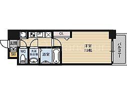 ウォークフォレスト御幸町[3階]の間取り